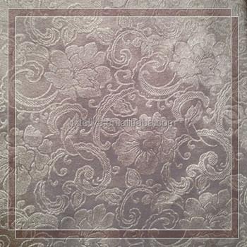 Silver Jacquard Velvet Sofa Cloth Design