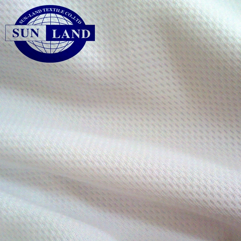 Classic 100% polyester interlock jersey plain dyeing fabric for soccer football basketball sports clothes for sublimation print