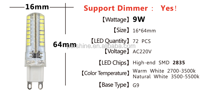 G9 led diode chandelier lamp 3w 5w 110v 220v smd 2835 chip high g9 led diode chandelier lamp 3w 5w 110v 220v smd 2835 chip high lumen full wattage mozeypictures Images