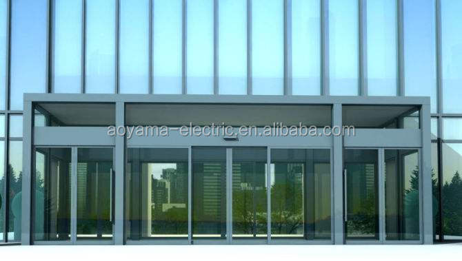Glass Automatic Sliding Doors Entrance glass sliding door system