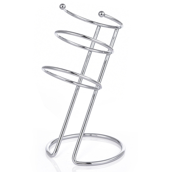 Salon Metal Chrome Hair Dryer Table Stand Holder Hair Dryer