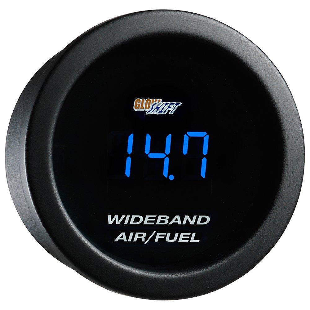 GlowShift Blue Digital Wideband Air/Fuel Gauge