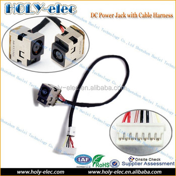 New For Hp G62 Laptop Ac Dc Power Jack Socket Port Plug Connector W/ Dc Wiring Harness W Plug on