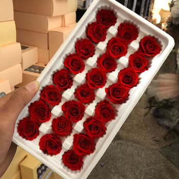 Factory directly sale A Grade all year occasions ecuadorian immortal red roses