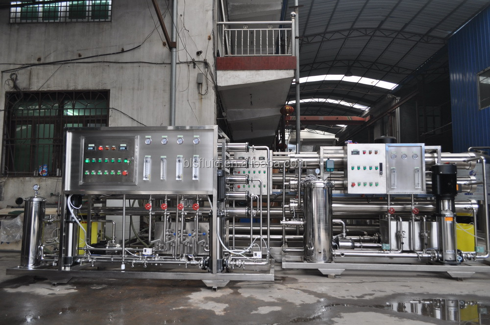 salt water reverse osmosis purification treatment equipment