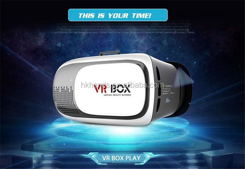 High quality virtual reality 3d vr glasses, ABS plastic 2nd genaration vr box 2.0 for Apple IOS, Android