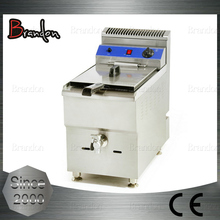 Brandon economic counter top gas chicken deep fryer machine