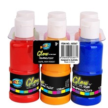 Hot jual Cahaya Gelap Tempera 6 Warna set art cat cat akrilik <span class=keywords><strong>artis</strong></span>