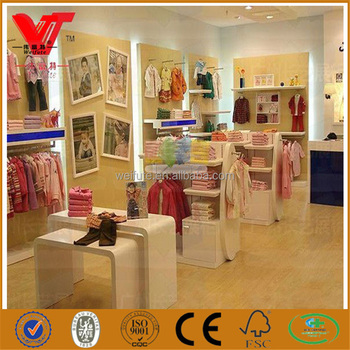 Baby Clothes Store Interior Design Kids Shop Fittings For