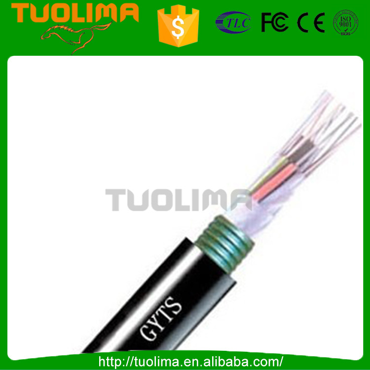 GYTS outdoor 8 12 24 36 48 96 core fiber optical cable