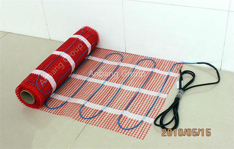 Bathroom Floor Heating Mat For Electric Underfloor Heating Mat