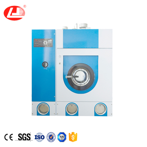 Small dry cleaning machine for laundry shop