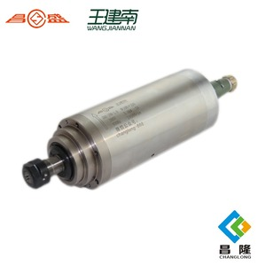 high precision spindle 3kw watercooling spindle with 3 bearings hot sale GDZ100-3KW