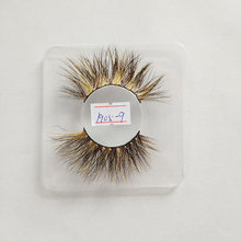 25mm lashes 3D visone colorful striscia di <span class=keywords><strong>ciglia</strong></span>