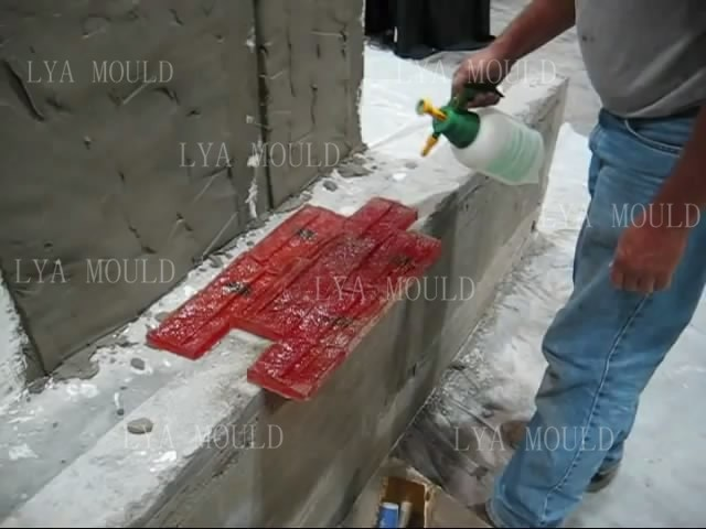 Rubber Brick Herringbone Concrete Stamps Tools Buy