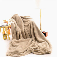 American Native use Wholesale super soft sherpa flleece blanket made in China