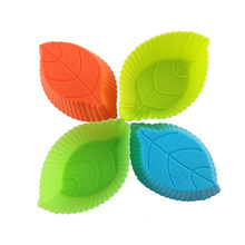 Food Grade Magnetron Boom Bloem Muffin Case Mold Silicon Cupcake Mould