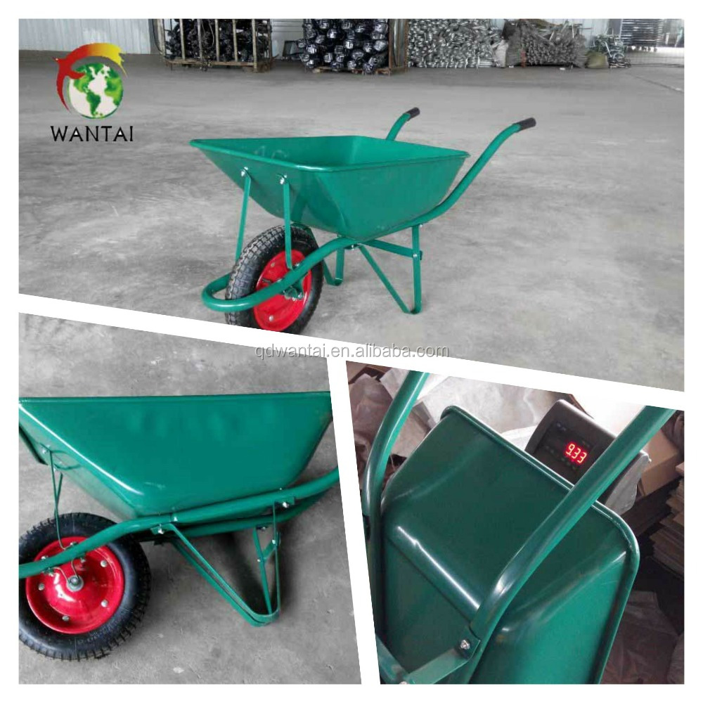 wheelbarrow parts tractor china WB2500 simple farm tools farm tools and equipment wheelbarrow with low price antique garden cart