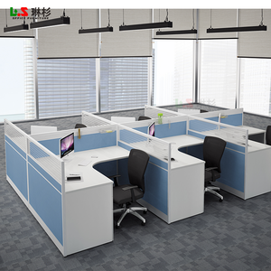 china furniture room divider office workstation for 6 person
