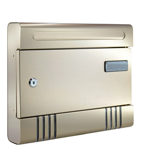 China factory OEM waterproof metal mailbox/letterbox of bottom price high quality