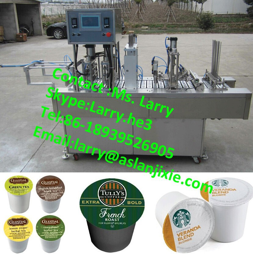 coffee capsule machine/tea capsule k cup filling machine