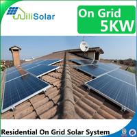 2017 Free Shipping Customizable Solar Energy System 1KW 2KW 3KW 4KW 5KW 6KW 7KW 8KW 9KW 10KW