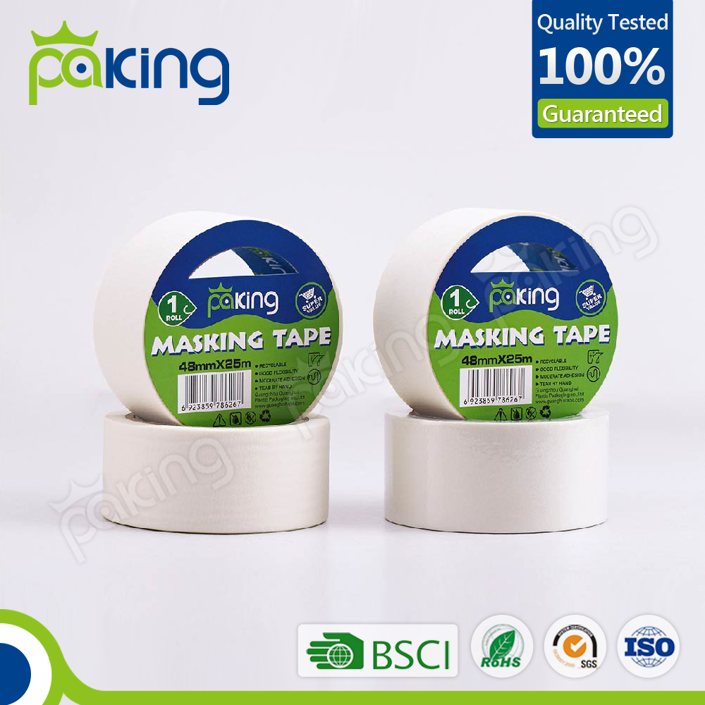 factory directly supply white color masking tape for daily use