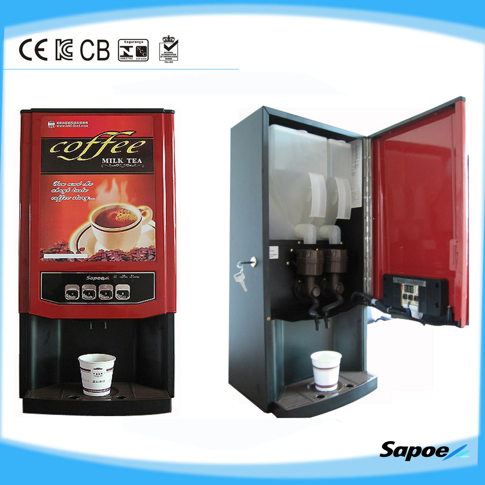 Commercial Instant Chocolate & Coffee & Milk Tea Coffee Vending ...