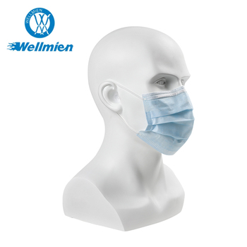 Customized Non-woven Disposable 3 Ply Medical Protective Face Mask
