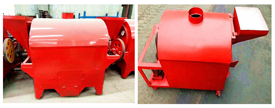 Roterende Trommel Moer Koffiebrander/Pinda Amandel Cashewnoten Roosteren Machine