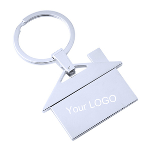 Factory Sale Cheap Promotional Custom Metal Stainless Steel Keychain Ring