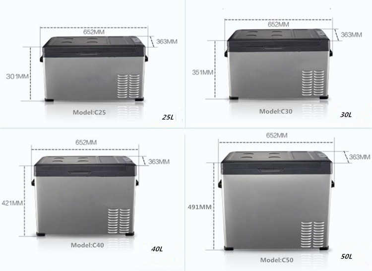 Mini Kühlschrank Für Das Auto : Mini kühlschrank gefriergeräte kleine tragbare tief v auto