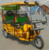 2018 new design battery operated electric auto rickshaw for india market