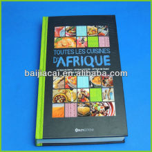 High quality hard cover book printing service in China