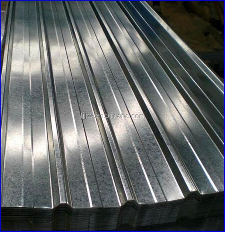Zinc Coated Galvanized Corrugated Steel Sheet Corrugated
