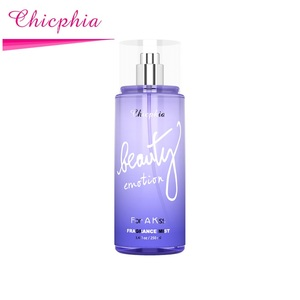 Chicphia For a kiss fragrance perfume body spray with genie collection perfume