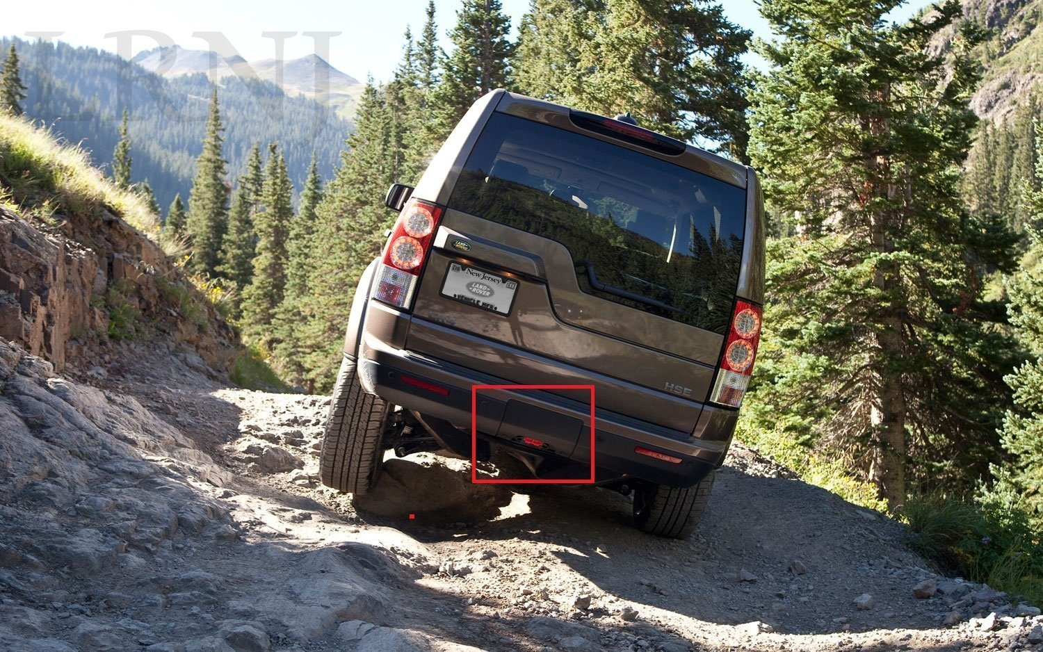 LAND ROVER LR4 / DISCOVERY 4 2010-ON TOW EYE COVER REAR FOR REAR BUMPER DPO500011PCL