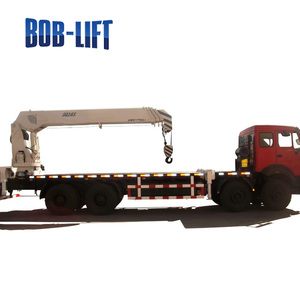 hydraulic arm 16 ton construction crane load on truck for sale