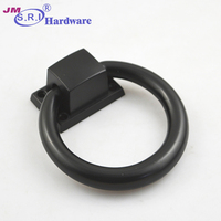 Zinc alloy pull ring / door knocker / handle rings for chair