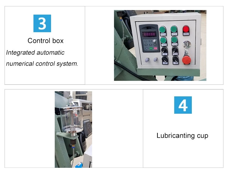 LA001 Easy operate electric pipe threading rolling machine