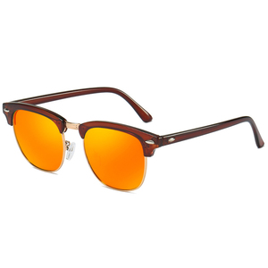 3016 Superhot Eyewear Classic Retro Vintage Half-rim Sun glasses Men Women Mirrored Driving Shades Polarized Sunglasses