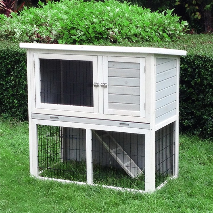 High Quality Wooden Outdoor Rabbit House Hutch Cage Design - Buy ...