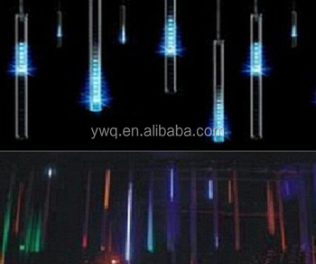 christmas led snow tube light 1 meteor led tube led meteor shower rain tube lights