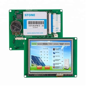 3.5 Inch 640x480 CAPACITIVE LCD Capacitive Touch Screen With RGB/CPU Interface For Car Digital Dashboard