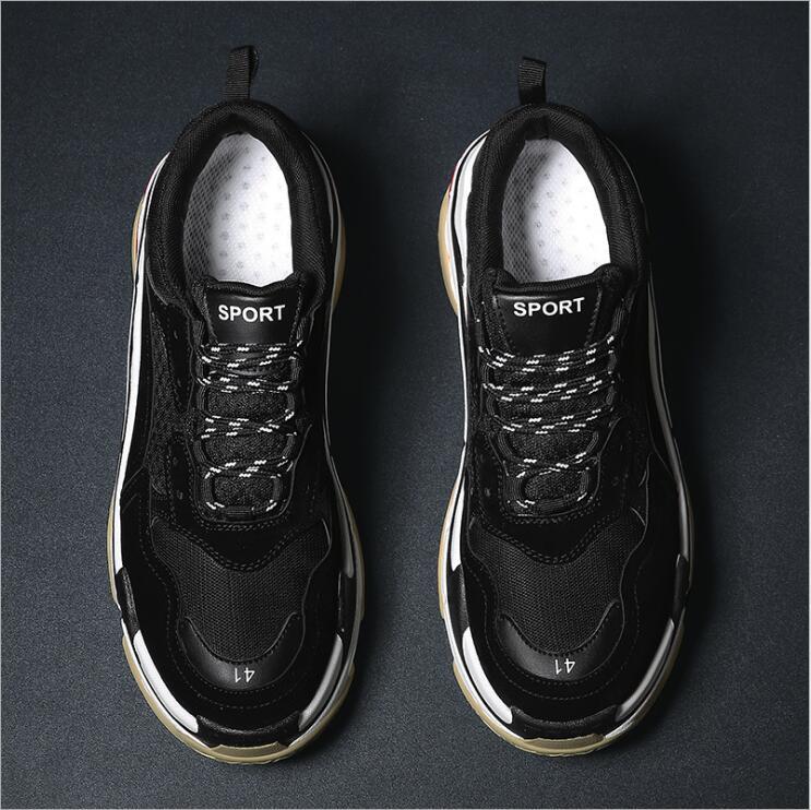 new style sneakers 2018 quality fashion casual men comfortable shoes thick heel good korean men nS8xq1vwwO