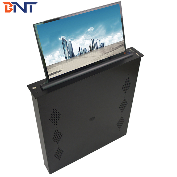 17,3-inch conferentiekamer bureaucomputer pop-up lcd / tv-monitor hefmechanisme