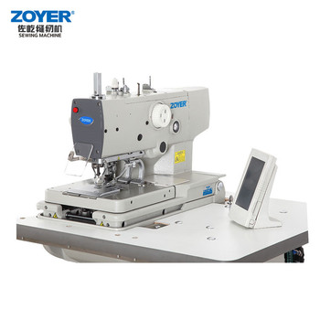 Stable Quality Tajima 40 Head Embroidery Jack Button Sewing Machine Stunning Button Sewing Machine