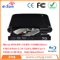 12.7mm usb2.0 DVD-RW,combo,blu-ray dvd burner/Blu-ray cdrom cdrw optical drive/external hard drive