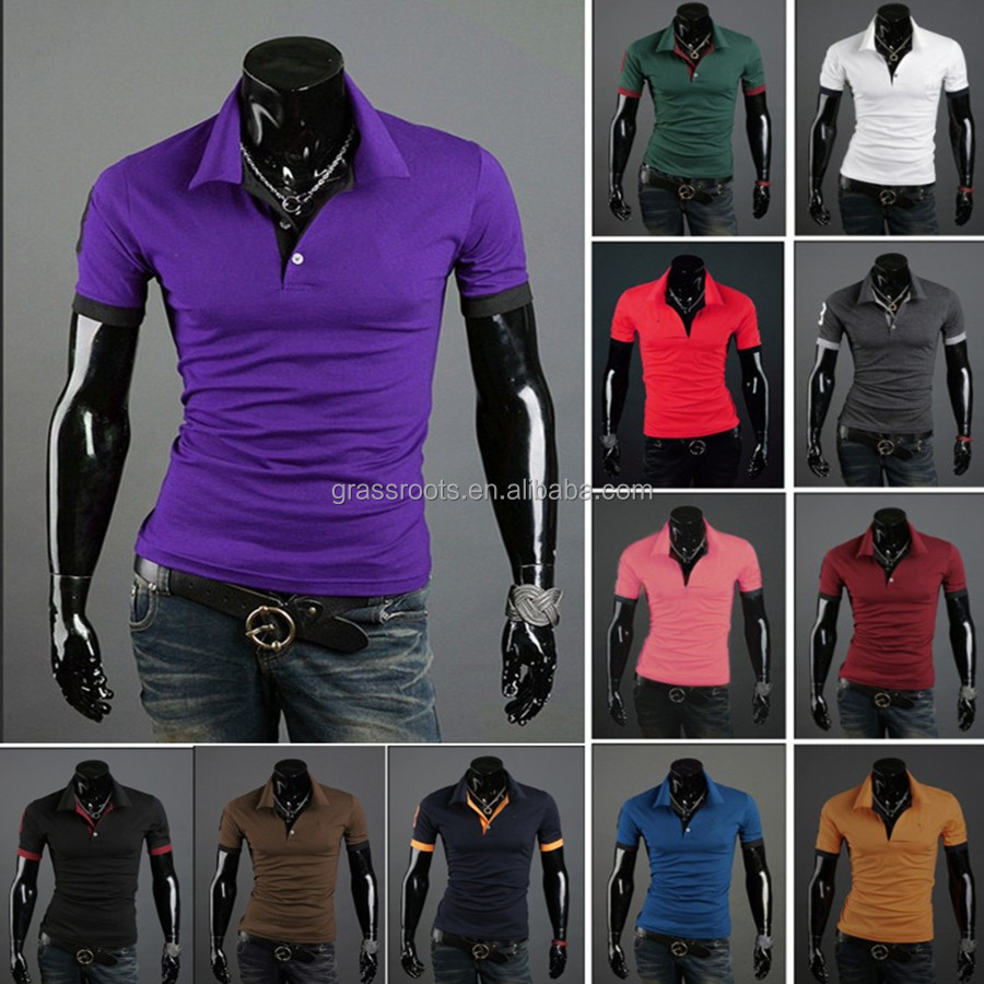 Shirt new design 2015 - 2015 New Mens Polo Shirt Fashion Polo T Shirt Design Collar Men Cheap All Over Polo T Shirt Printing Buy Polo T Shirt Mens Polo Shirt Polo T Shirt Product