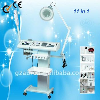 Hot!!! 11 in 1 multifunctional beauty machine for beauty salon Au-8208A